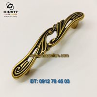 Nơi bán Mẫu Tay nắm tủ tân cổ điển đẹp WMN830.96.00A8 96mm Giusti - Italy chính hãng tại Hà Nội