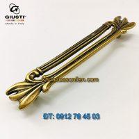 Nơi bán mẫu Tay nắm tủ tân cổ điển WMN837.128.00A8 128mm Giusti - Italy nhập khẩu tại Hà Nội
