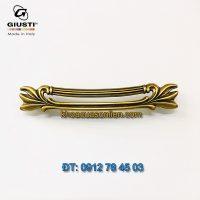 Nơi bán Mẫu Tay nắm tủ tân cổ điển WMN837.128.00A8 128mm Giusti - Italy chính hãng tại Hà Nội