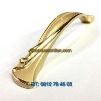 Nơi bán Tay nắm tủ tân cổ điển mạ màu nhũ vàng 6668 - 128mm tại Hà Nội