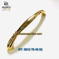 Nơi bán Tay nắm tủ mạ vàng cao cấp WMN654.128.00GP 128mm của Giusti Italy chính hãng tại Hà Nội