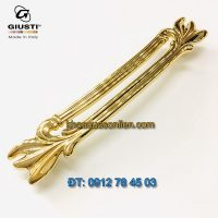 Nơi bán Mẫu Tay nắm tủ tân cổ điển mạ vàng WMN837.128.00GP 128mm Giusti - Italy nhập khẩu chình hãng tại Hà Nội