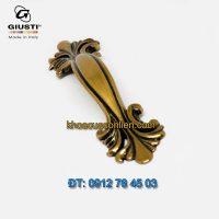 Nơi bán mẫu Tay nắm tủ tân cổ điển màu đồng WMN627.064.00A8 64mm Giusti nhập khẩu Italy giá rẻ tại Hà Nội