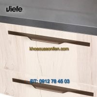Nơi bán mẫu Tay nắm tủ với đường cong nhẹ nhàng BRIKK 0334 của Viefe nhập khẩu Tây Ban Nha giá rẻ tại Hà Nội