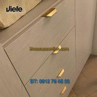 Giá bán mẫu Tay tủ nhôm kiểu hiện đại VANN 0375 của Viefe nhập khẩu Tây Ban Nha giá rẻ tại Hà Nội